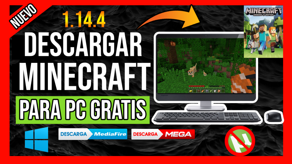 descargar minecraft gratis ultima version pc